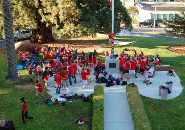 Class of 2012 in the circle