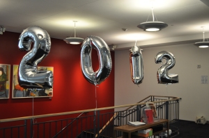 Class of 2012 balloons in the BBLC