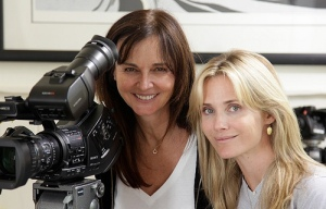 Filmmaker Svetlana Cvetko and Jennifer Siebel Newsom (photo by Svetlana Cevetko from http://bit.ly/pZN4Zp)