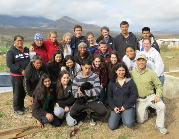 This year's Corazon minicourse group in Mexico