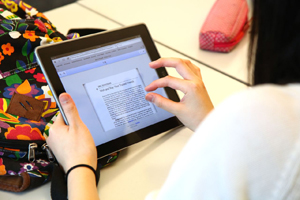 Technology in English class