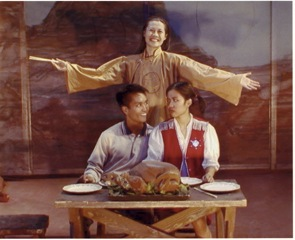 A Thanksgiving scene from Rancho Grande